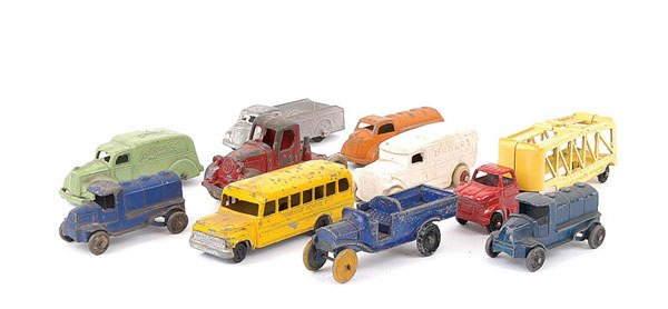 1005: Tootsietoy, John Hill & Co and Others Trucks