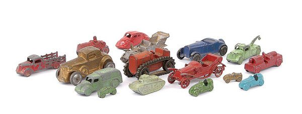 1009: Small Scale Miniature Vehicles