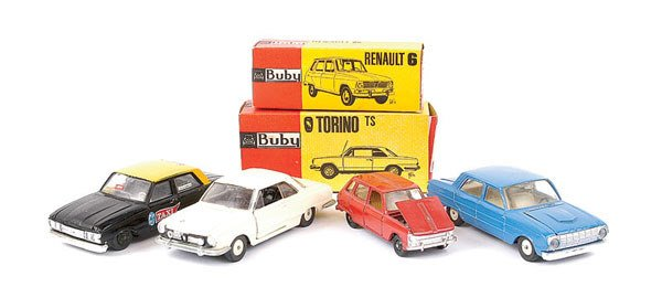 1019: Buby Ford Falcon Taxi & Others