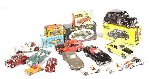 2001: A Mixed Group of Boxed & Unboxed Diecast