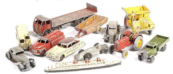 2002: A Group of  Unboxed Dinky Toys