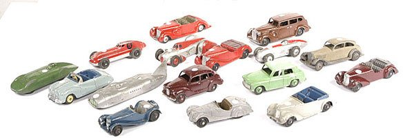 2003: A Group of Unboxed Dinky Toys
