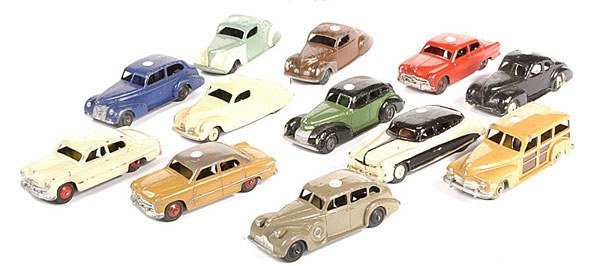 2004: A Group of Unboxed Dinky Toys