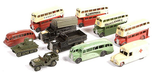 2006: A Group of Unboxed Dinky Toys