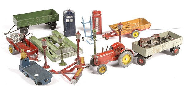2007: A Group of Unboxed Dinky Toys