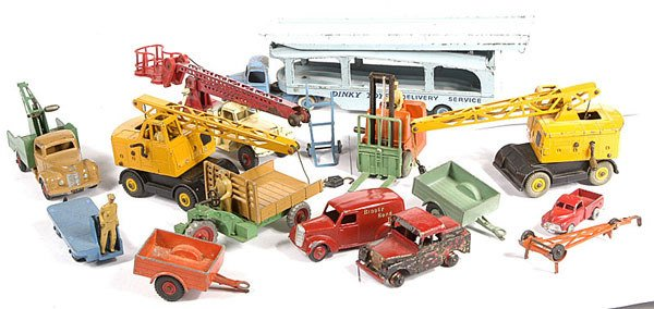2010: A Group of Unboxed Dinky Toys