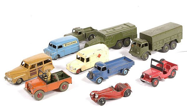 2011: A Group of Unboxed Dinky Toys