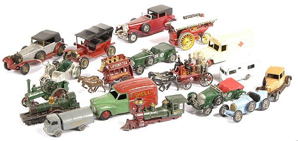 2012: Matchbox, Dinky - A Group of Unboxed