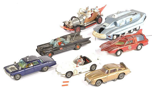 2013: Corgi, Dinky Unboxed TV Related Items