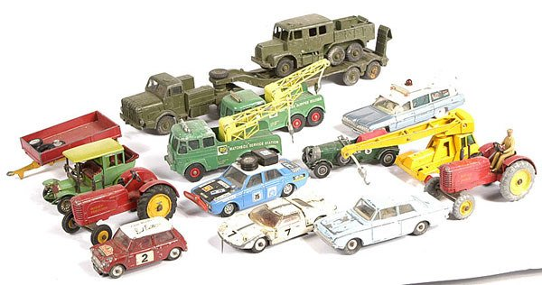 2014: Dinky, Matchbox - a mixed group of Unboxed