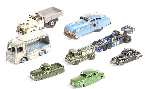2019: Dinky Toys, Schuco, Budgie - a group of Unboxed