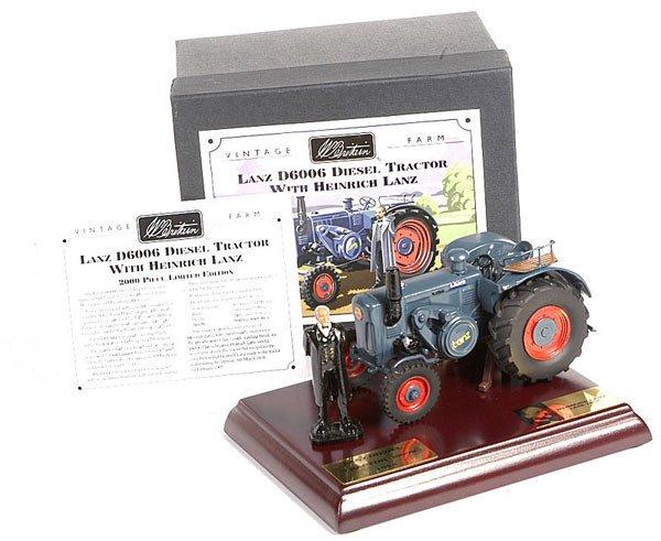 2020: Britains Limited Edition Lanz Diesel Tractor