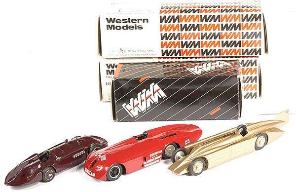 2021: Western Models - 3 x Landspeed Record Cars