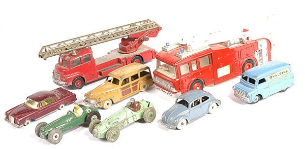 2024: A Group of Unboxed Dinky Toys
