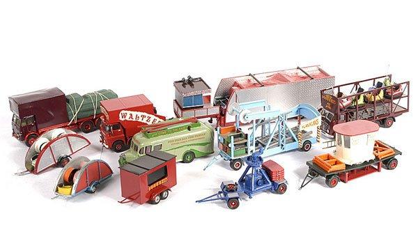 2233: Corgi Classics Fairground Vehicles