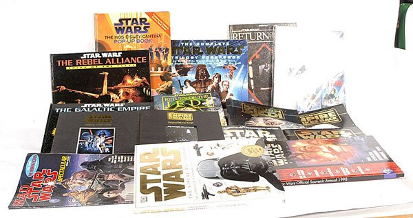 2471: Star Wars Books, Magazines and Annuals etc
