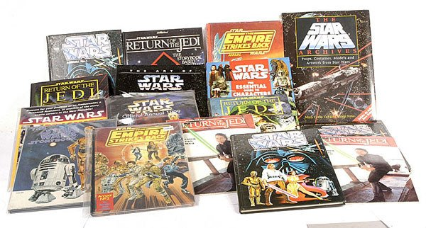 2540: A Large Mixed Group of Star Wars Books