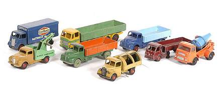 2601: Dinky Toys - a group of Unboxed Commercials