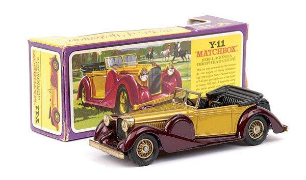 4002: Matchbox Yesteryear Y11 Lagonda Coupe
