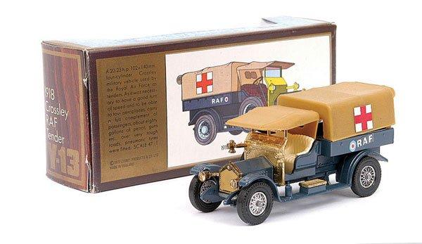 4003: Matchbox Yesteryear No.Y13 Crossley RAF Tender