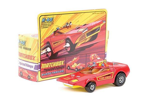 4004: Matchbox Speedkings No.K40 Blaze Trailer