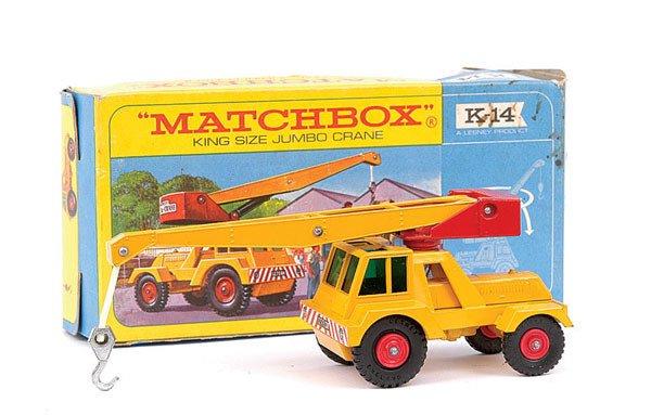 4006: Matchbox Kingsize No.K14 Taylor Jumbo Crane