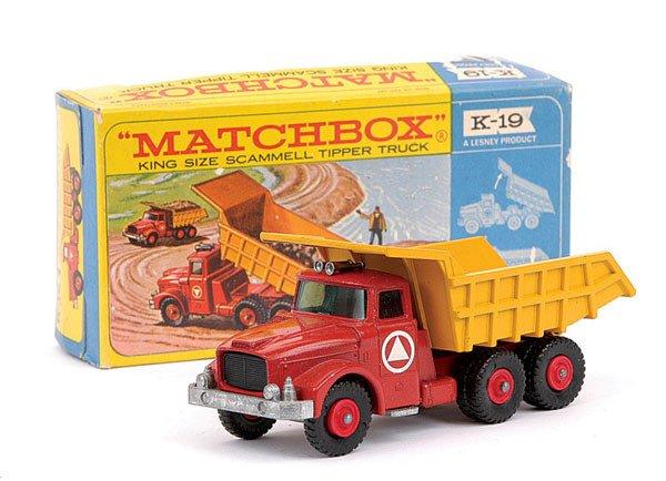 4007: Matchbox Kingsize No.K19 Scammell Tipper Truck
