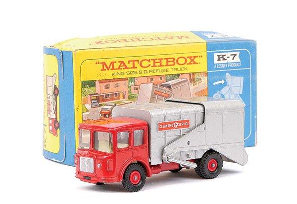 4008: Matchbox Kingsize No.K7 Shelvoke Refuse Truck