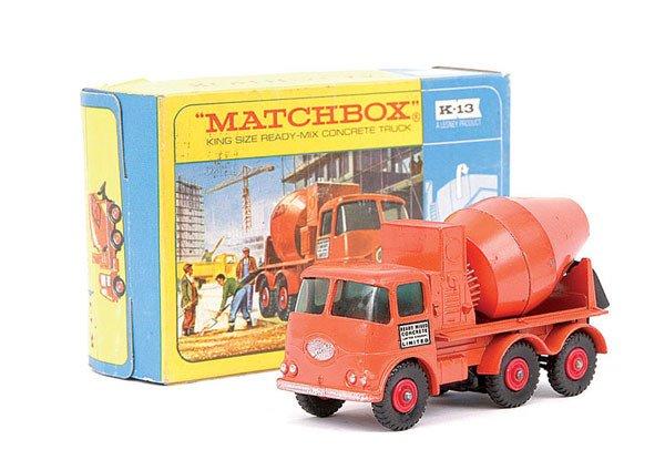 4009: Matchbox Kingsize No.K13 ERF Concrete Truck
