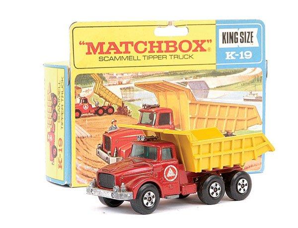 4010: Matchbox Superkings No.K19 Scammell Tipper Truck