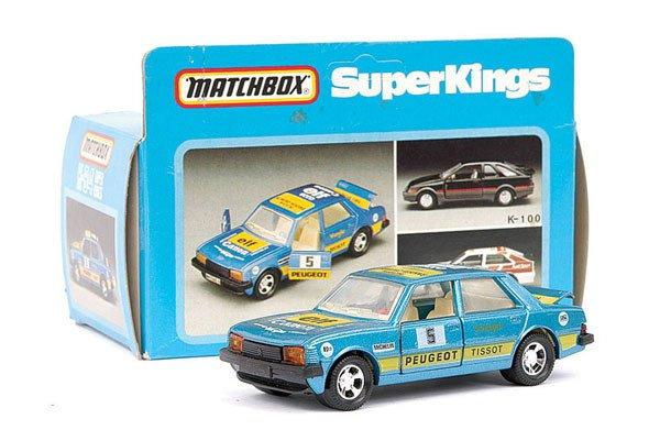4011: Matchbox Superkings No.K84 Peugeot 305 Rally Car