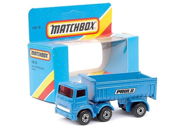 """4015: Matchbox No.MB30 Leyland Tipper """"Pauls"""""""