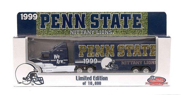 4020: Matchbox White Rose Penn State Truck and Trailer