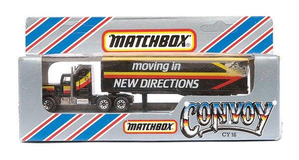 4021: Matchbox Convoy Kenworth Aerodyne Truck