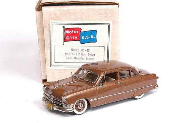 4524: Motor City USA MC12 1950 Ford 2-door Sedan