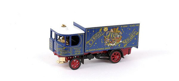 9: Matchbox MOY Y37 pre-pro Garrett Steam Wagon