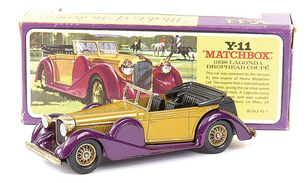 243: Matchbox MOY No.Y11 1938 Lagonda