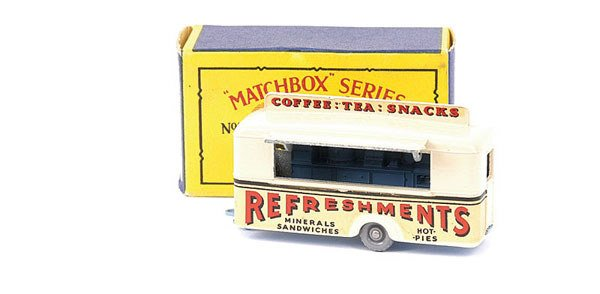 434: Matchbox No.74a Mobile Refreshments Canteen