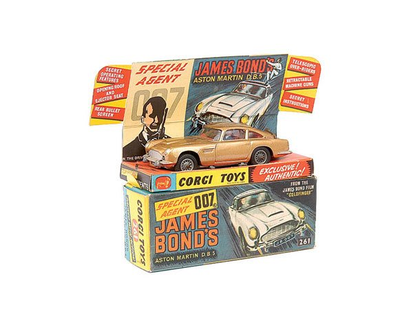 "1002: Corgi No.261 Aston Martin DB5 ""Goldfinger"""
