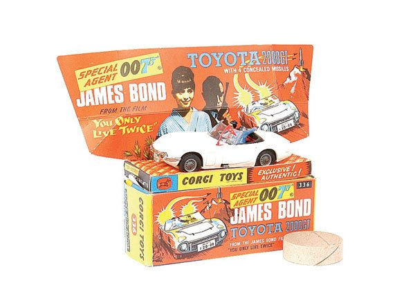 "1003: Corgi No.336 Toyota 2000GT ""You Only Live Twice"""