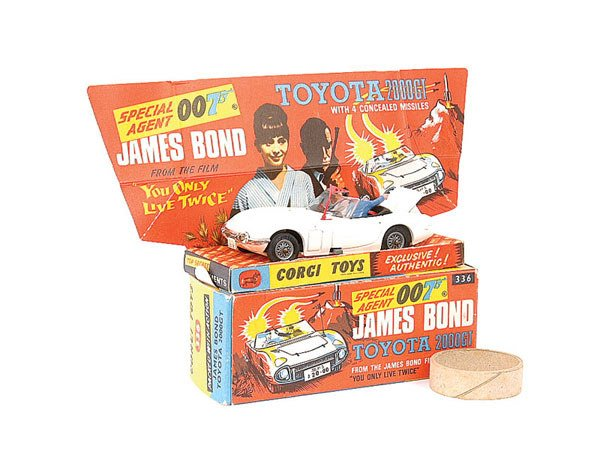 "1005: Corgi No.336 Toyota 2000GT ""You Only Live Twice"""