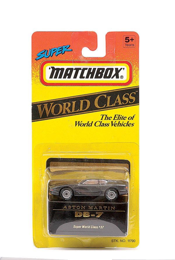 "1020: Matchbox No.11790 Aston Martin DB7 ""007"""