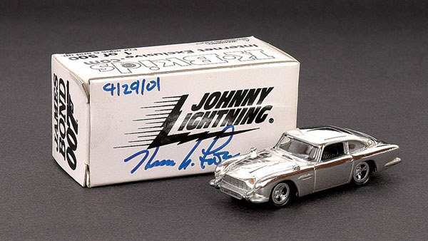 "1021: Johnny Lightening Aston Martin DB5 ""007"""