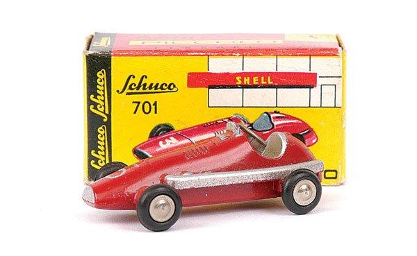 2001: Schuco Piccolo 701 Ferrari Racing Car