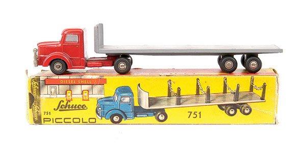 2023: Schuco Piccolo 751 - Krupp Timber Wagon