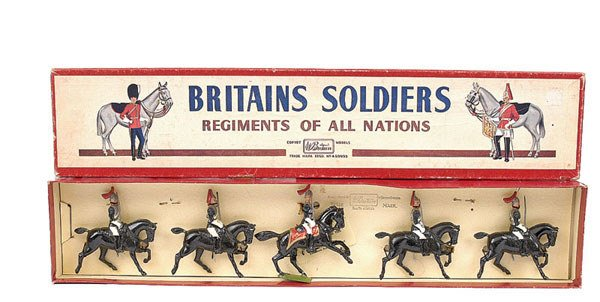 3001: Britains-Set 2-Royal Horse Gds [post war]