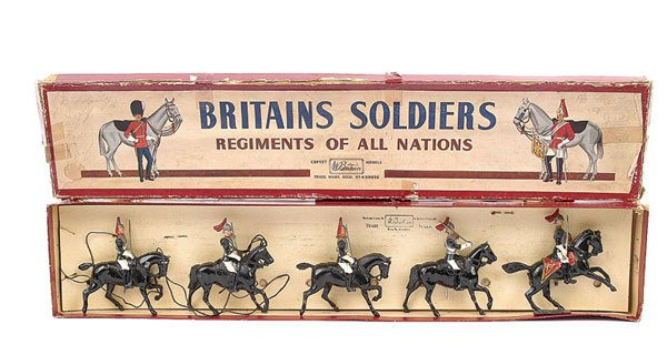 3002: Britains Set 2-Royal Horse Gds [post war]