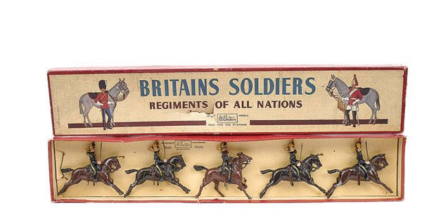 3003: Britains - Set 8 - 4th Hussars - [Post War]