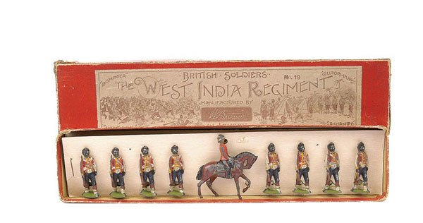 3006: Britains - Set 19 - The West India Regt