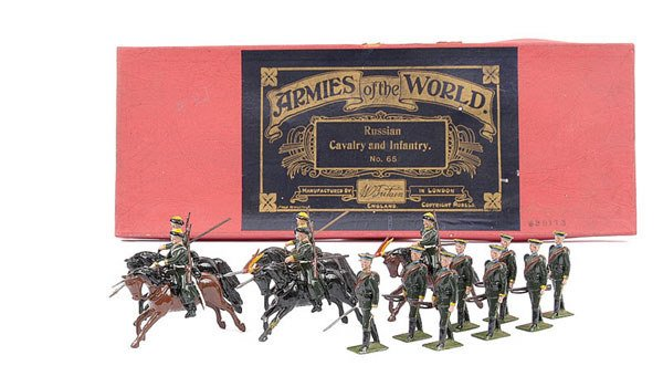 3014: Britains Set 65 - Russian Cavalry and Infantry